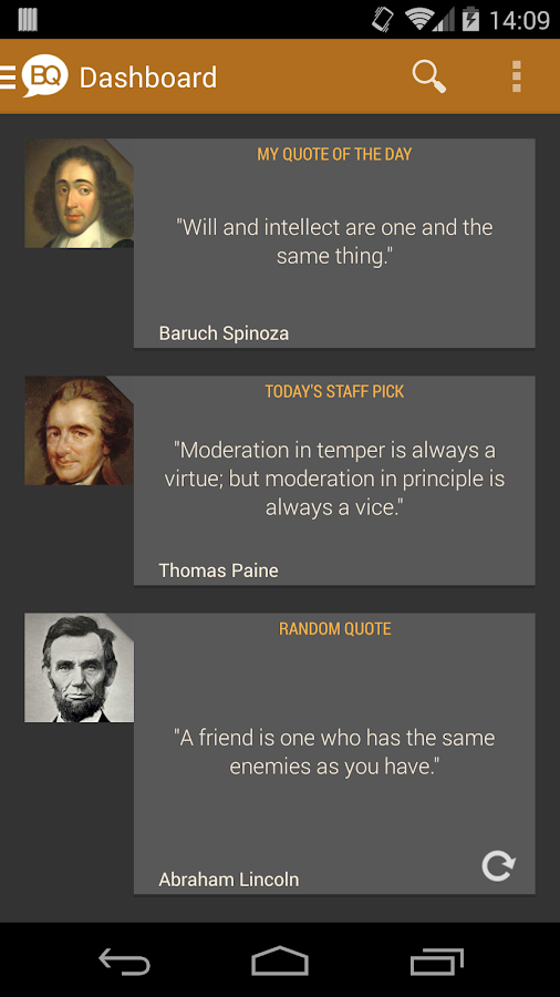 Brilliant Quotes & Quotations - screenshot