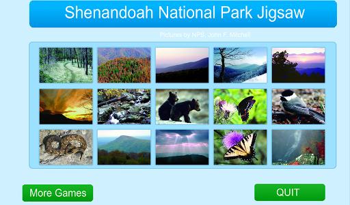 Shenandoah NationalPark Jigsaw