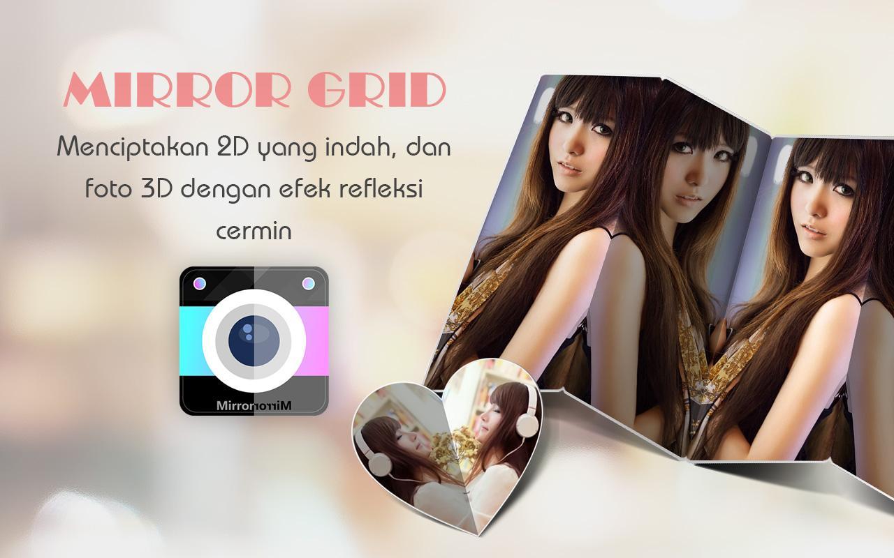 Mirror Grid Foto Efek Cermin Apl Android Di Google Play