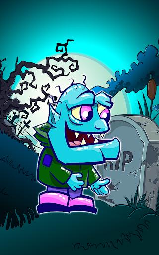 Zombie Chase Glow Zapper Dash