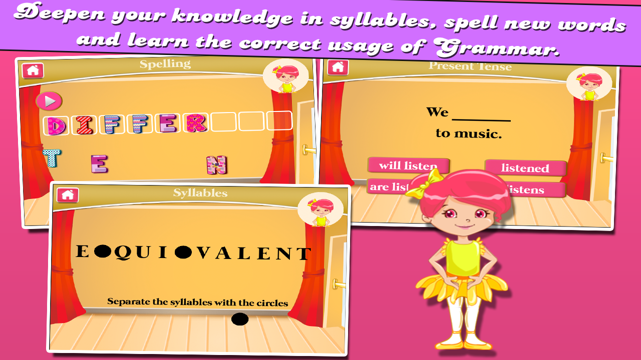 Ballerina Third Grade Games- screenshot