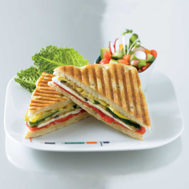 Bistro on Five's Vegetable Panini is a light and fresh lunch option on your Celebrity cruise.