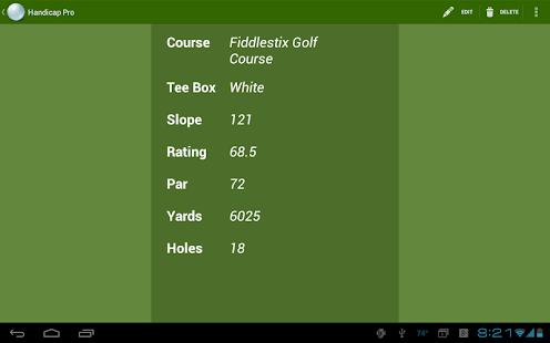 Handicap: Golf Tracker Pro- screenshot thumbnail