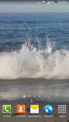 玩個人化App Angry Ocean Live Wallpaper HD免費 APP試玩