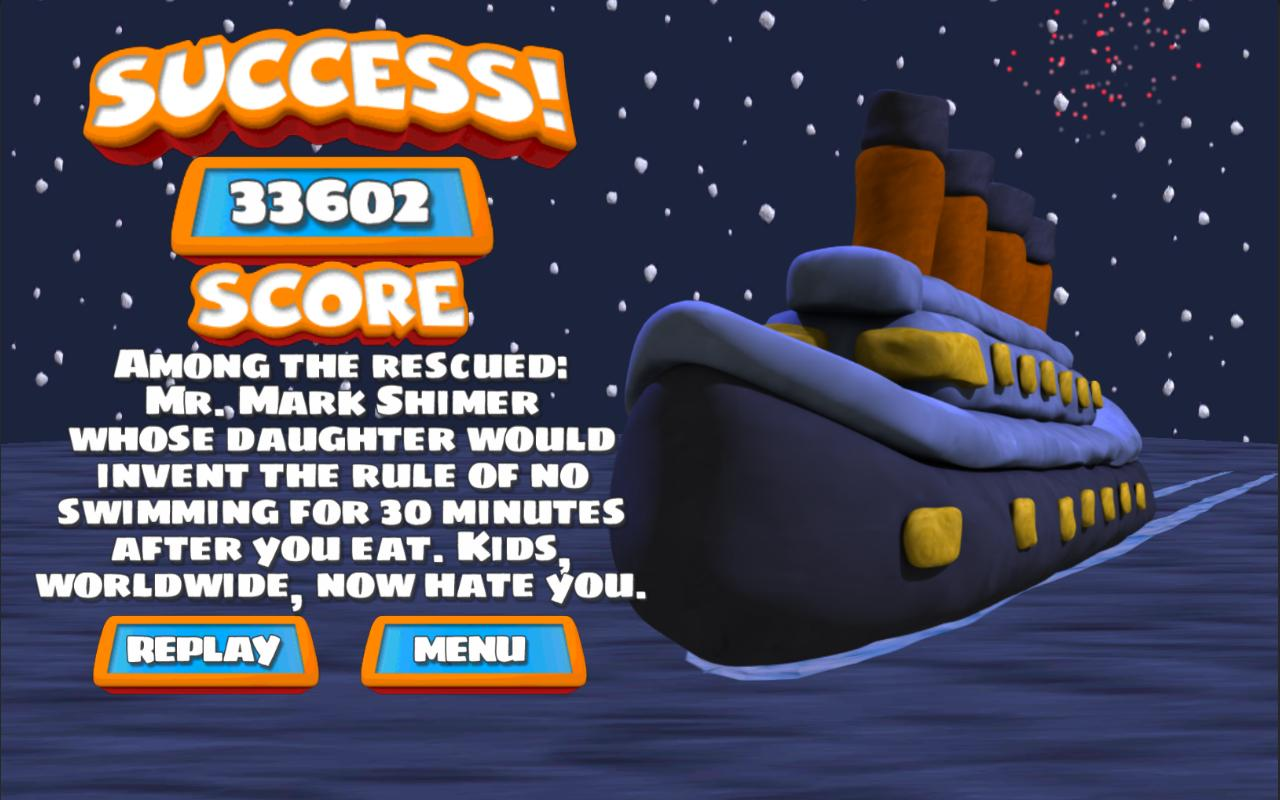 Save The Titanic- screenshot