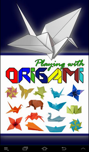 Origami : Playing With Origami
