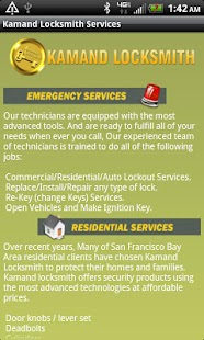 Kamand Locksmith Services- screenshot thumbnail