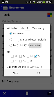 Deutscher Kalender-Vollversion - screenshot thumbnail