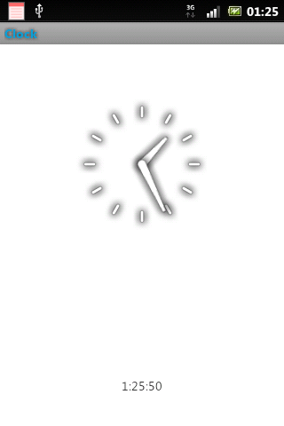 Clock - screenshot