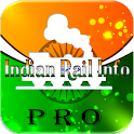 Indian Rail Info Pro icon