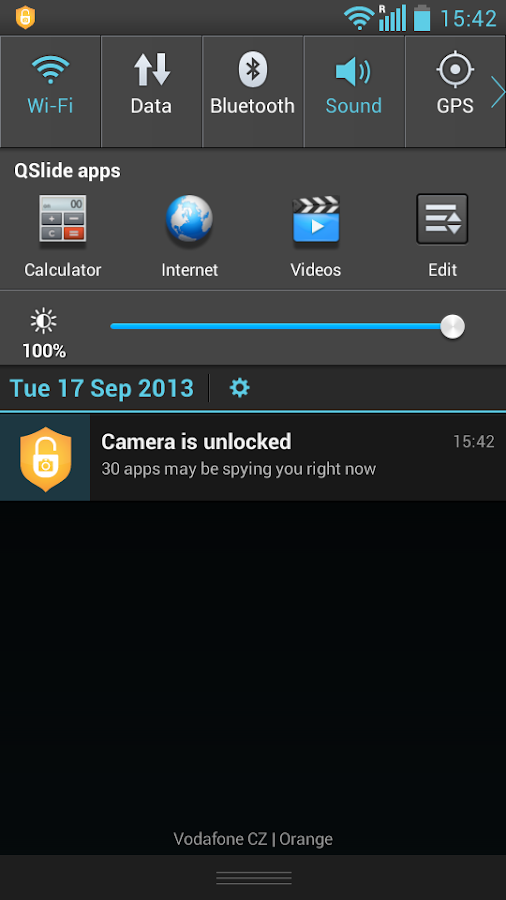 Camera Block - Spyware protect - screenshot