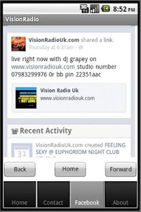 Vision Radio UK- screenshot thumbnail