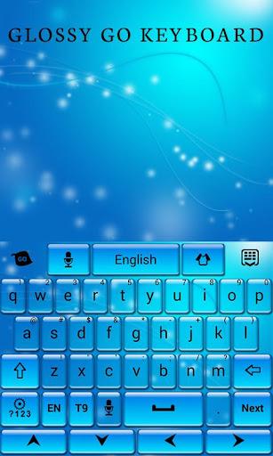 無料个人化AppのGlossy GO Keyboard Theme|記事Game