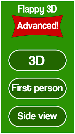 Flappy 3D advanced