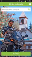 Screenshot of Motorradhotels