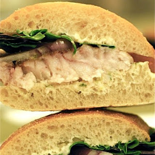 Spicy Thai Fish Sandwiches.