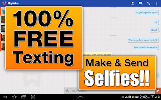 Screenshot of GoHeyWire Text FREE Texting