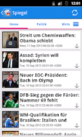 Screenshot of Deutschland News