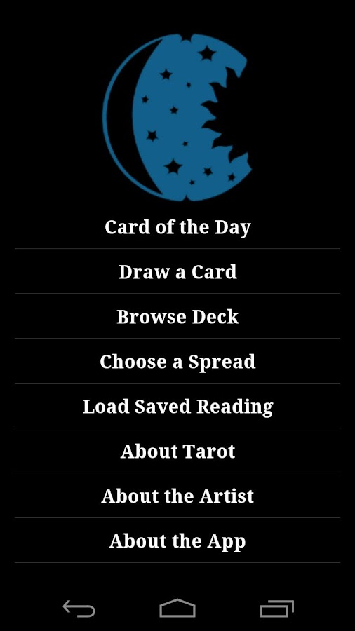 Masonic Tarot - screenshot