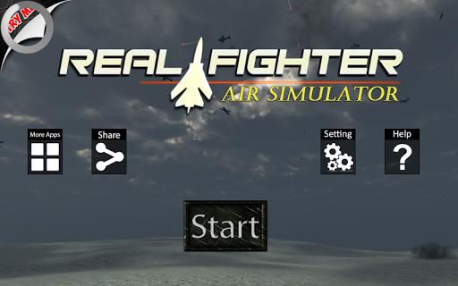 真正的戰鬥機空軍Simulater