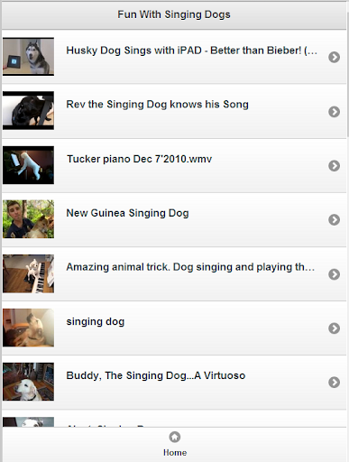 Fun With Singing dogs