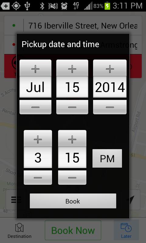 Nawlins Cab - screenshot