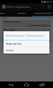 Västtrafik Travelplanner - screenshot thumbnail