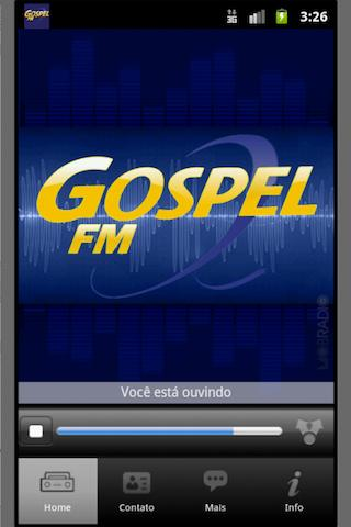 Radio Gospel FM - Sao Paulo - screenshot
