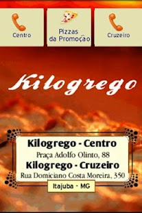 Kilogrego Pizzas- screenshot thumbnail
