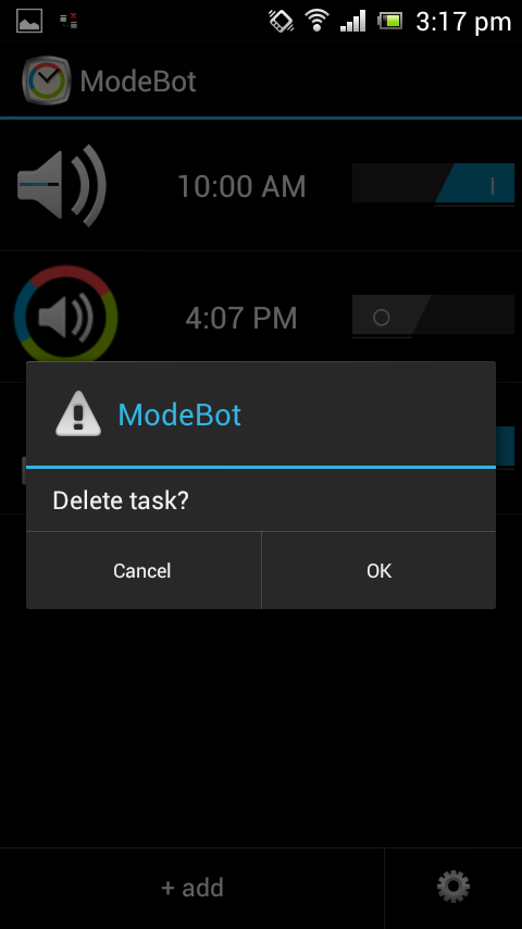 ModeBot - do not disturb. - screenshot