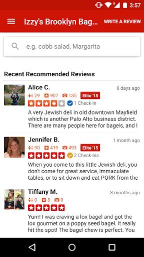Yelp app (apk) free download for Android/PC/Windows screenshot