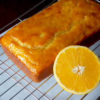 Glazed Orange Yogurt Bread