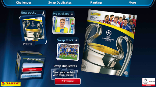 UCL Virtual Sticker Collection