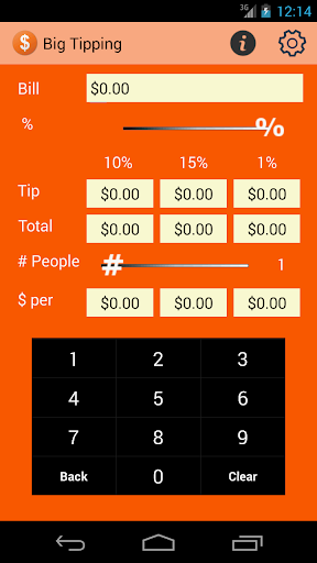 Big Tipping Tip Calculator
