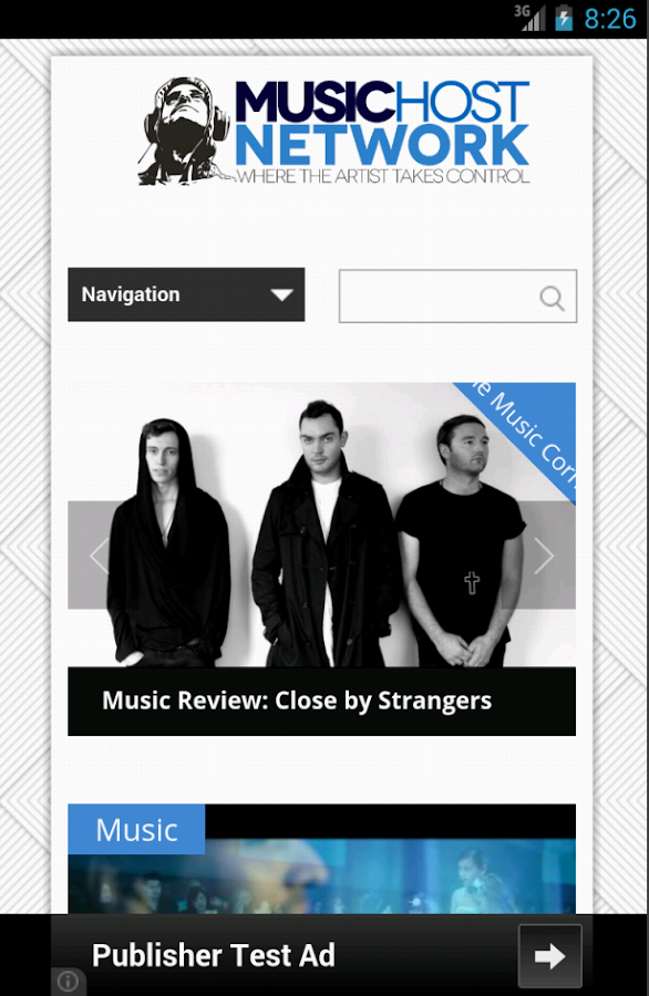 Music Host Network - screenshot
