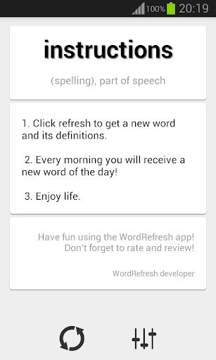WordRefresh
