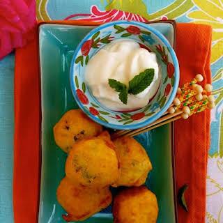 Potato Bondas (Indian Snacks).