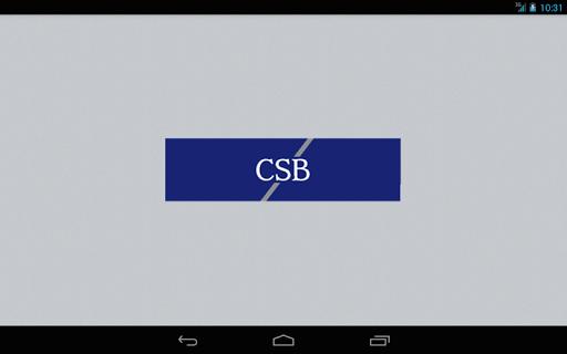 Community Shores Bank Tablet