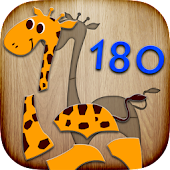 180 Puzzles for Preschool Kids