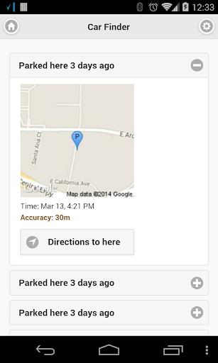 Bluetooth Car Finder