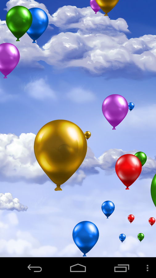 Balloons Live Wallpaper! - screenshot