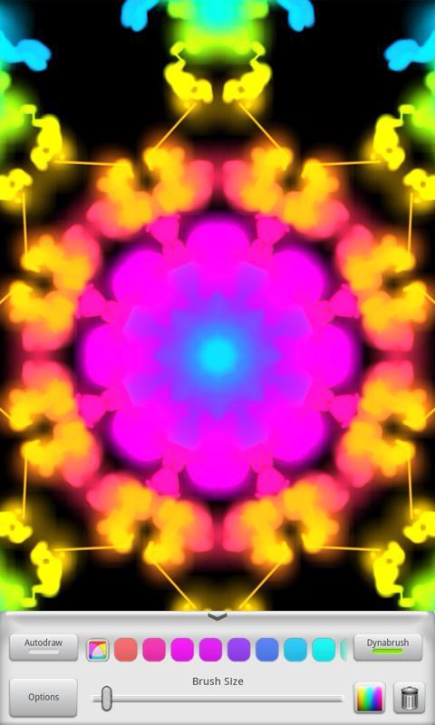 Kaleidoscope Painter - Free Ed- screenshot