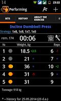 Screenshot of GymUP