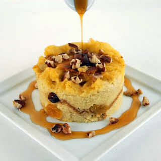 Challah French Toast Bread Pudding.