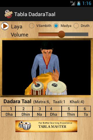 Tabla Dadara Taal
