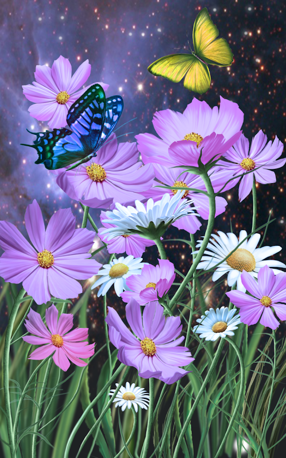 Flowers and Butterflies Summer- screenshot