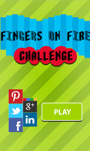 Fingers on Fire Challenge