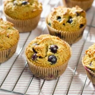 Blueberry Paleo Muffins.