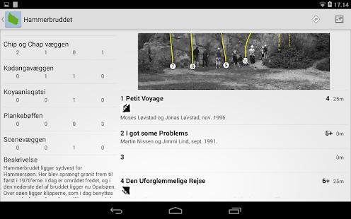 Klatring på Bornholm - screenshot thumbnail