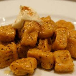 Sweet Potato Gnocchi with Cinnamon Brown Butter & Whipped Mascarpone.